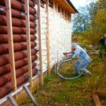 Утепление дома полиуретаном плюсы, минусы и краткая технология