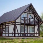 Фахверковые дома — привкус средневековья в урбанизированной реальности