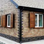 Декоративные панели для наружной отделки фасада дома