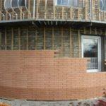 Качественная облицовка фасадными панелями под кирпич