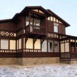 Способы внешней отделки деревянного дома