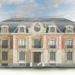 Фасад в стиле Барокко