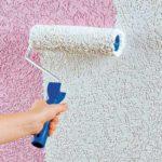 Методы покраски декоративной штукатурки и сложности при работе