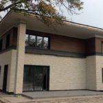 Отделка дома японскими фасадными панелями