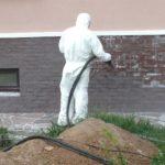 Виды очистки фасада здания и их эффективность