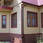 Обшивка домов металлическим сайдингом