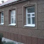 Мозаичная декоративная штукатурка фасадов