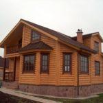 Фасад из блокхауса, что лучше дерево или альтернативный вариант