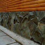 Обшивка цоколя дома натуральным камнем — выбор материала, этапы укладки и расчет стоимости