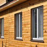Основные отличительные черты блок хауса, как материала для внешней отделки