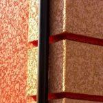 Декоративная штукатурка короед — как и чем, покрасить