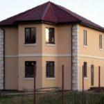 Штукатурка короед – оригинальный внешний вид и цвет фасада вашего дома