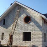 Обзор материалов для внешней отделки дома из пеноблока