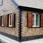 Отделка цоколя дома панелями как вариант для защиты фундамента от негативных воздействий
