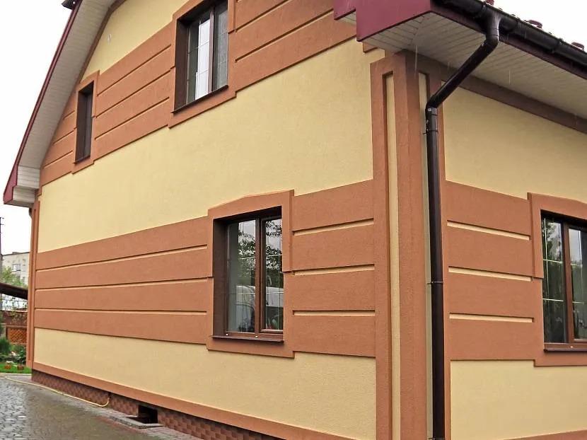 краска по фасаду