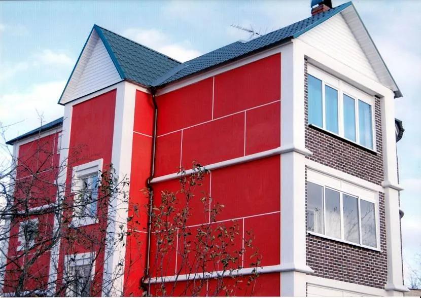 Покраска фасада1