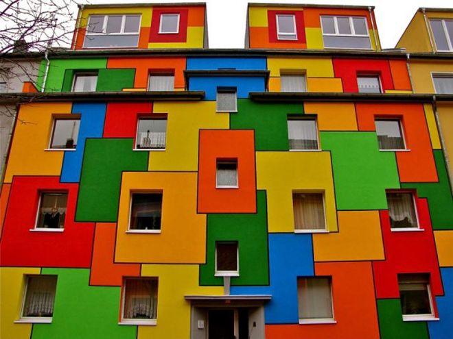 покраска дома из газобетона1