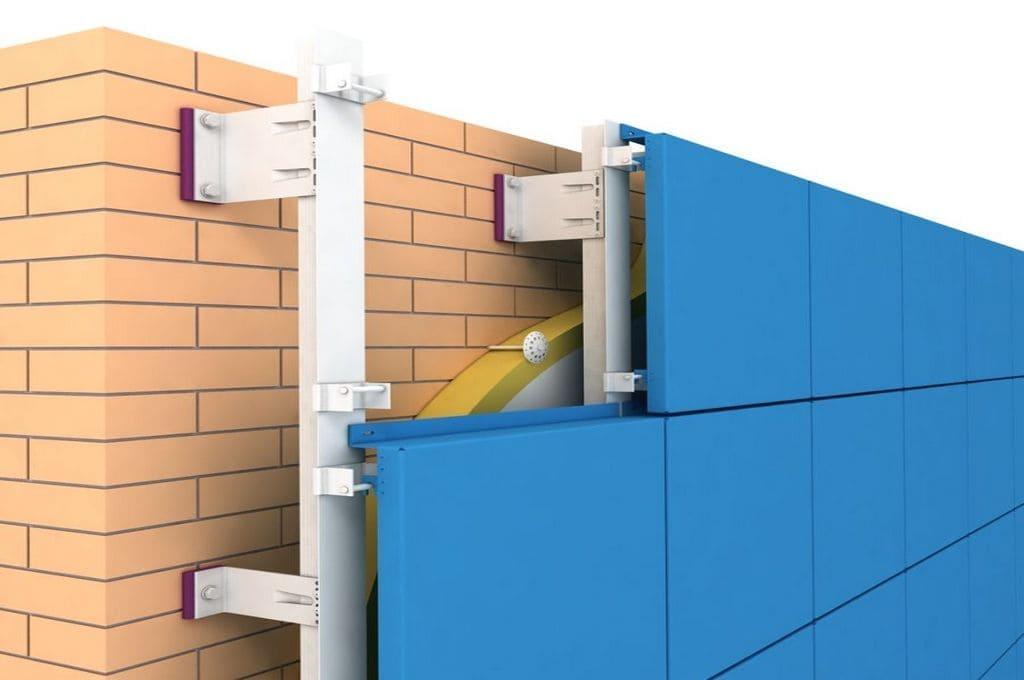 Фасадные кассеты для здания